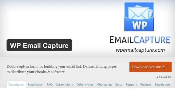 Email Capture