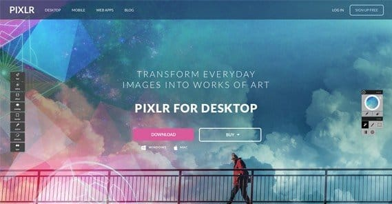 The Best Canva Alternative: PIXLR Photo Editor
