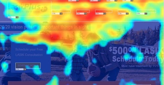 Crazyegg Heatmap