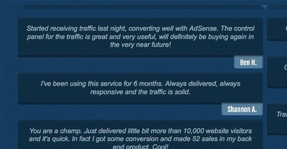 Traffic Reviews