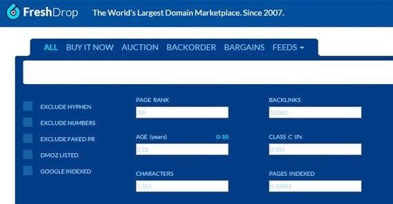 Expired Domain Name Links