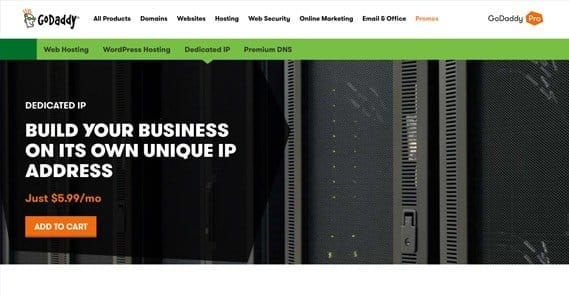 Dedicated Server GoDaddy