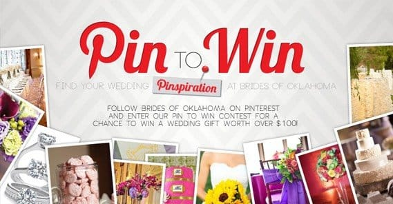 Pinterest Pin to Win Contest Example