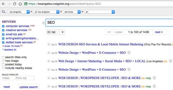 Craigslist Classifieds Los Angeles >> How To Drive Free Traffic From Craigslist Automatically