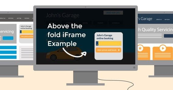 iFrame Example Above the Fold