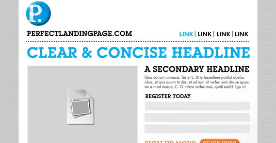 Perfect Landing Page Example