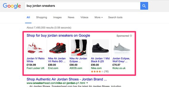 AdWords Shopping Ads
