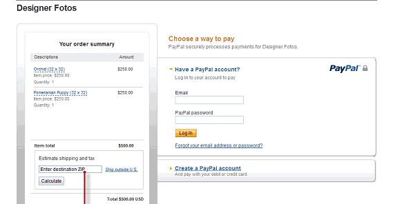 Intangible Services PayPal