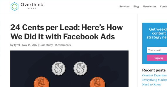 24 Cents Per Lead Case Study