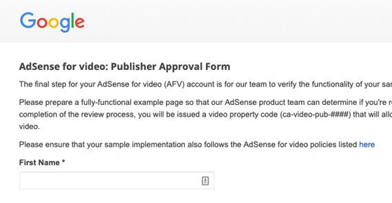 Guide: How to Get Approved on AdSense for Video